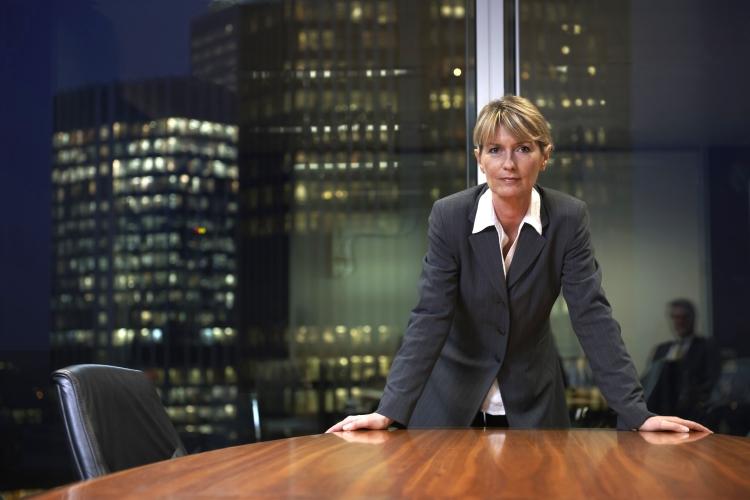 woman boardroom