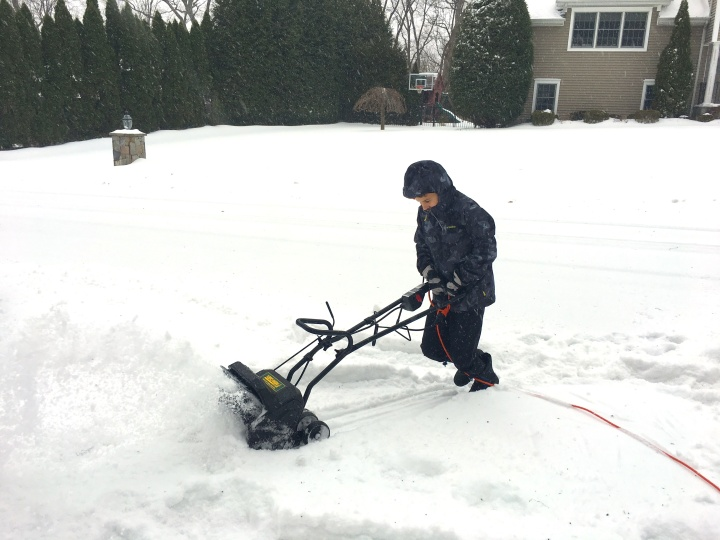 Snow Day Grit - Snow Blower