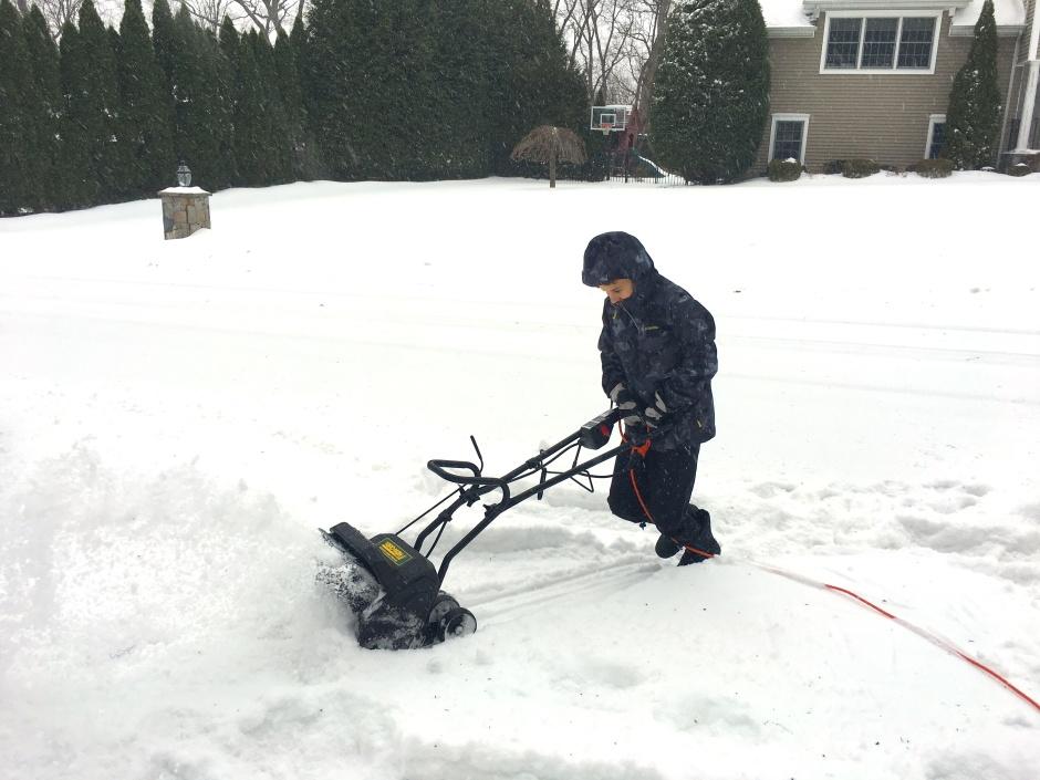 Snow Day Grit - Snow Blower