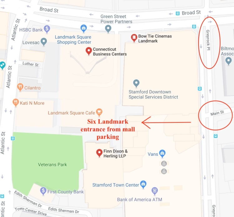 Map Location - Directions - Segal Coaching LLC