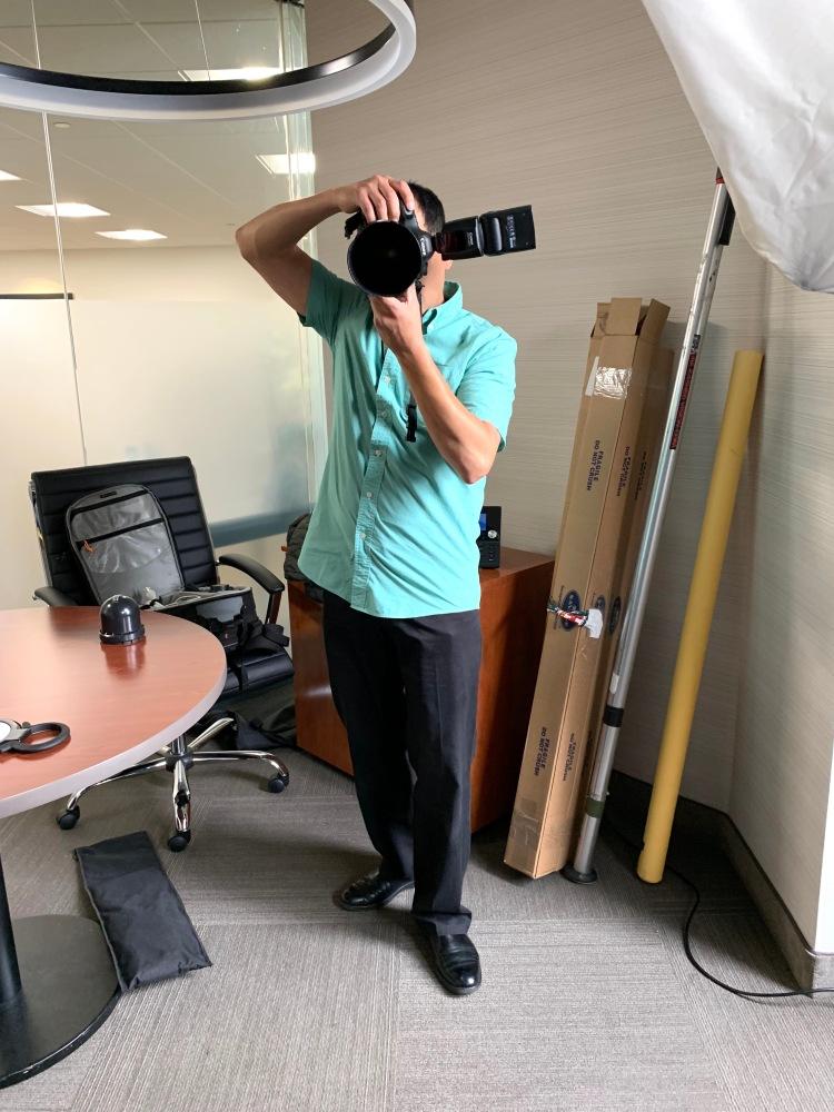 Alejandro with Camera