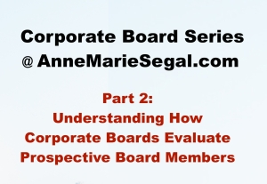 Corporate Board Service: Part 2
